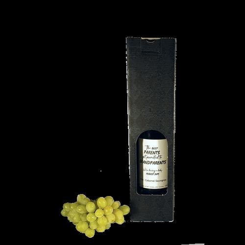 Gavekasse 1 flaske - vin
