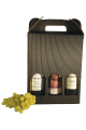 Gavekasse 3 flasker - vin