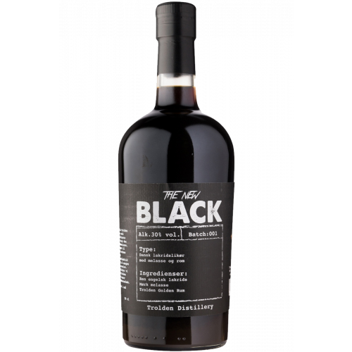 New Black lakridsshot - Trolden Bryghus