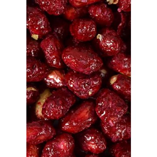 Jordbær karamelliseret peanuts, 25g