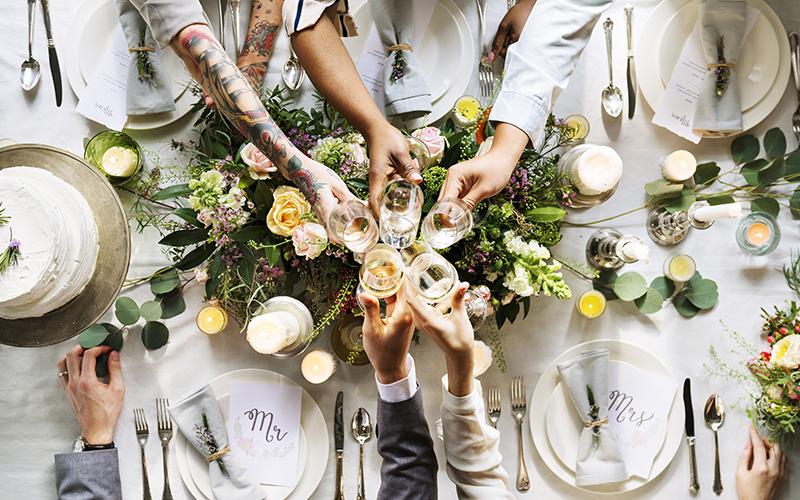 Vin til brylluppet